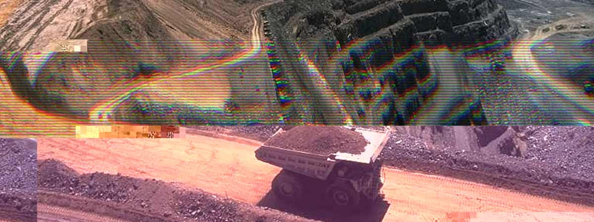 Strip mining for rare earth minerals
